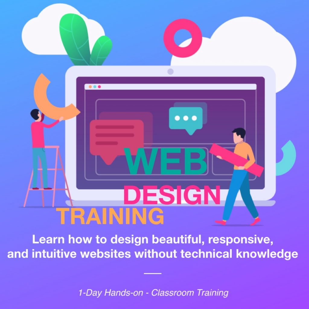 malaysia web design wordpress training course 2020