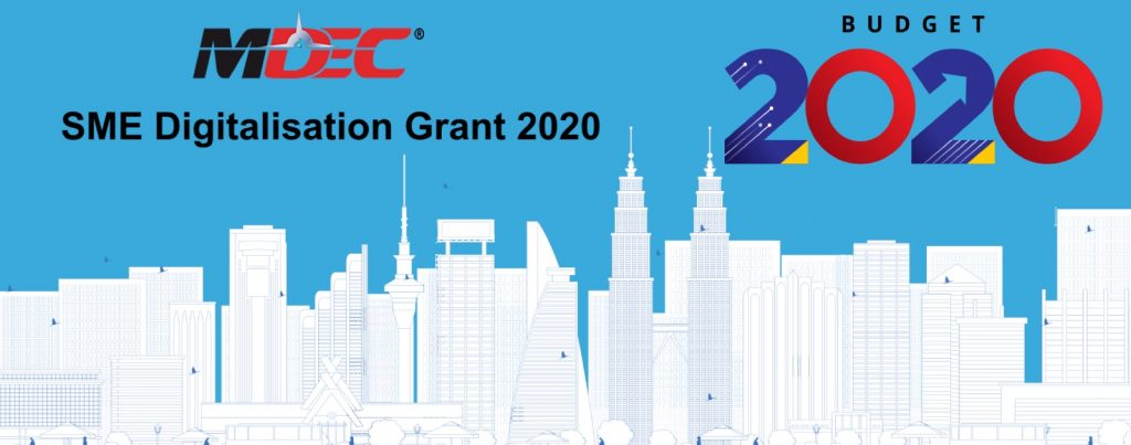 Malaysia MDEC SME Digitalisation Grant SME Matching Grant 2020