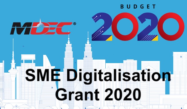 SME Digitalisation Grant SME Matching Grant 2020