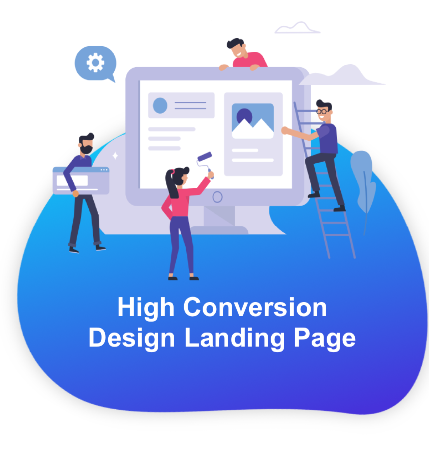 Highly Conversion landing page design malaysia