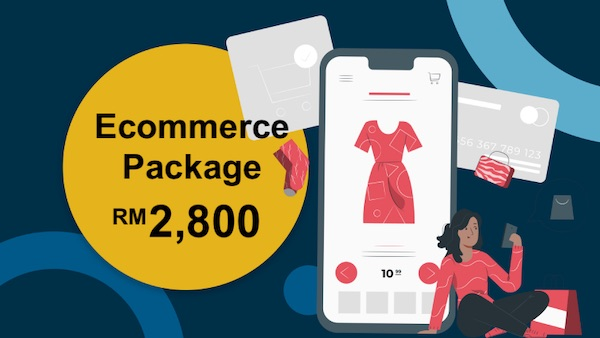 Ecommerce Online Shop Package Malaysia